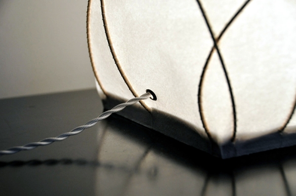 "Table lamp design innovation fancy ""lamp L"" by Anna Leymergie"