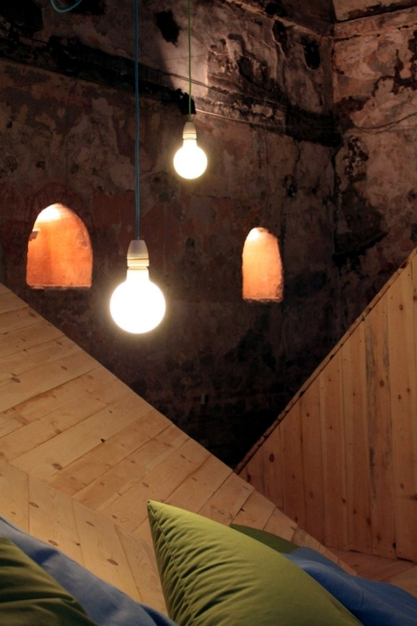 Temporary architectural installation - winner of A + Awards 2013