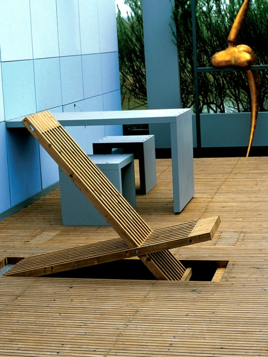 Terraces design - ideas for stylish patio area