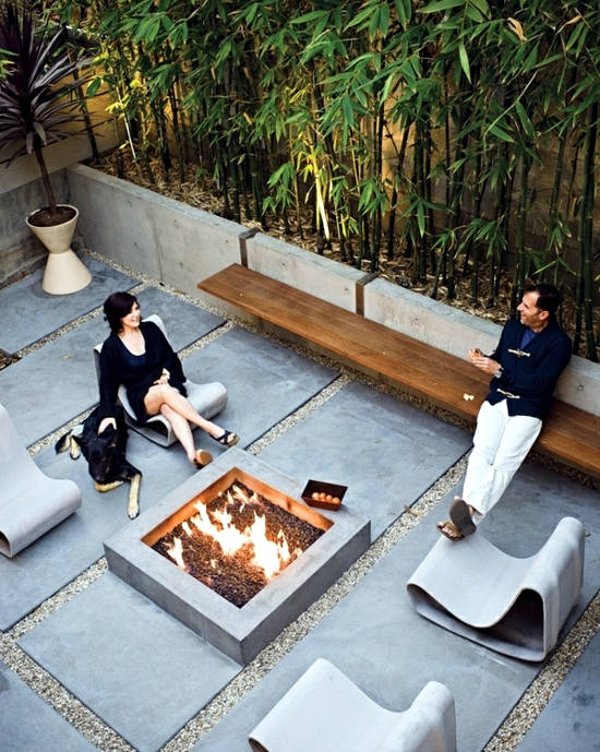 Terraces design - ideas for stylish patio area