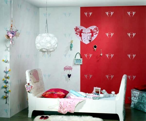 Textiles and wallpaper with pattern for children from Onszelf