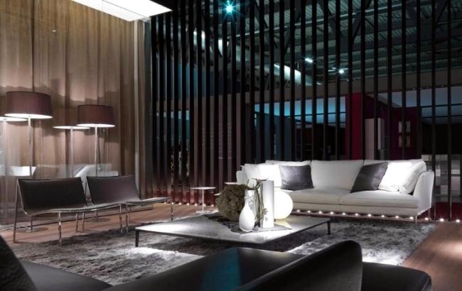 The Alivar Design interiors at the furniture fair in Milan