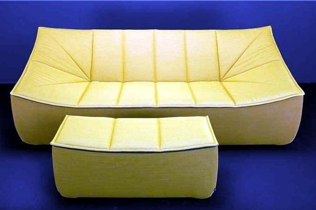 The Bahir living room furniture design embodies comfort and elegance
