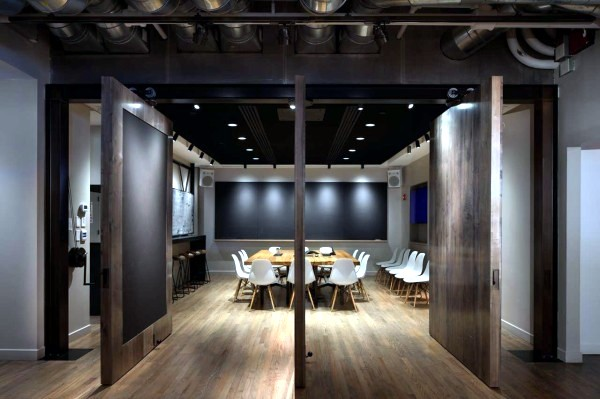 The design of the company offices Icrave