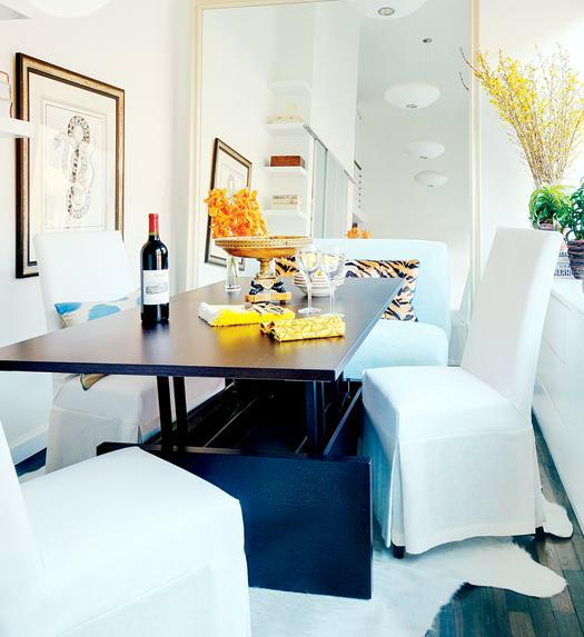 The designer furnishings from a small apartment in Manhattan