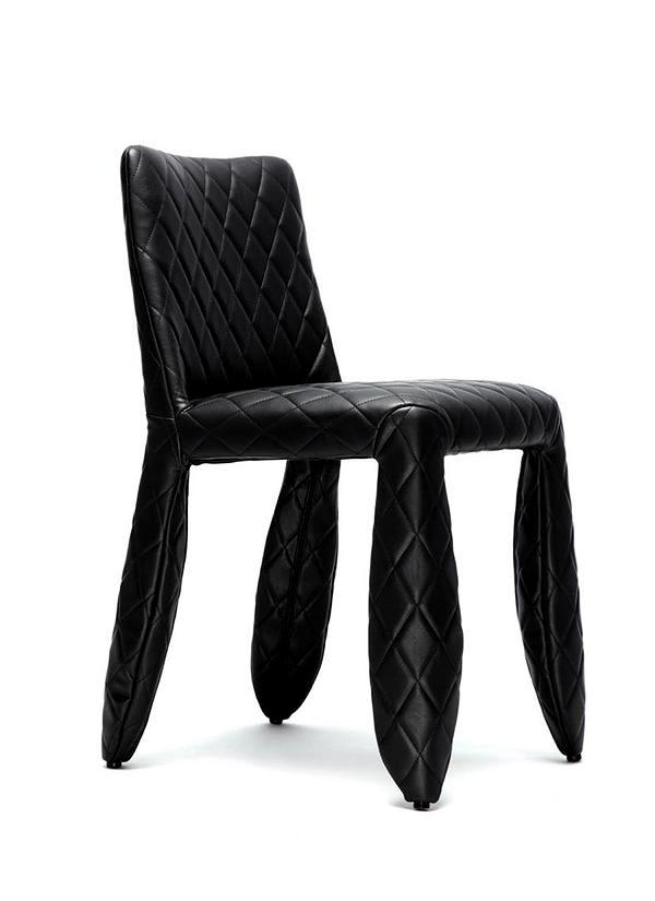 """The exclusive leather chair """"Monster"""" by Marcel Wanders for Moooi"""