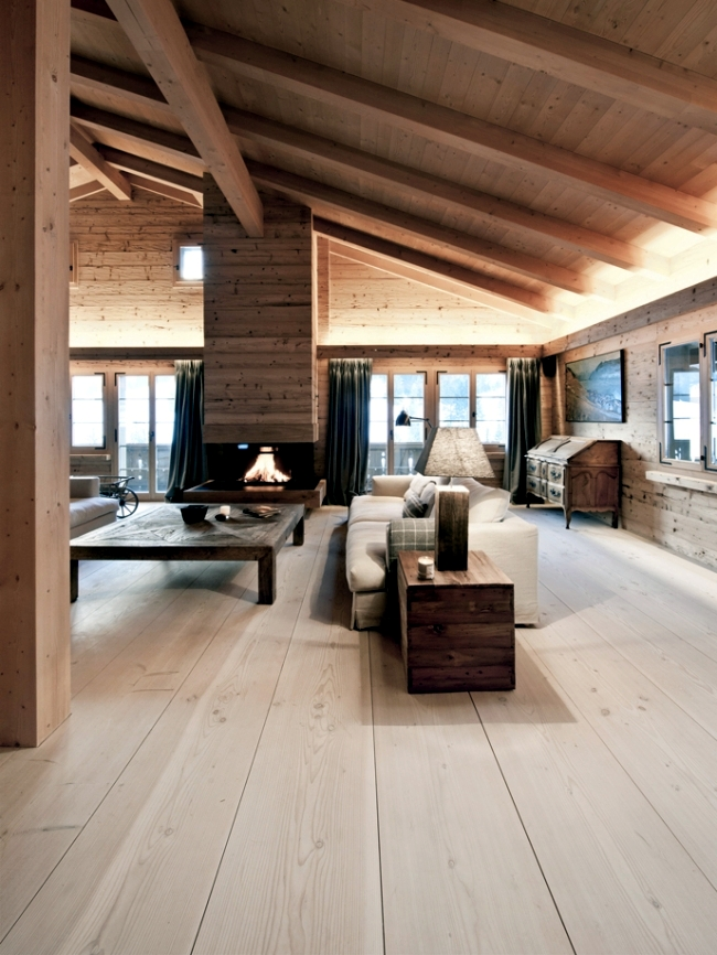 The Flooring Is Made Of Wood From Dinesen A Hallmark