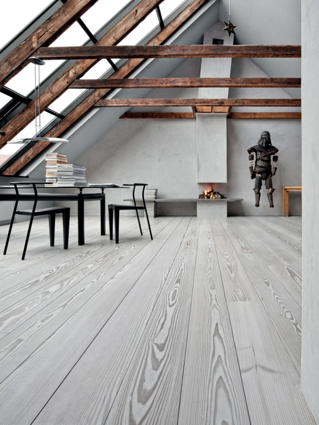 The Flooring Is Made Of Wood From Dinesen Is A Hallmark Of