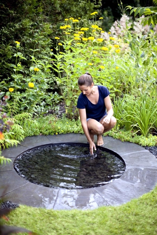 The garden appear larger - 33 tricks with water level