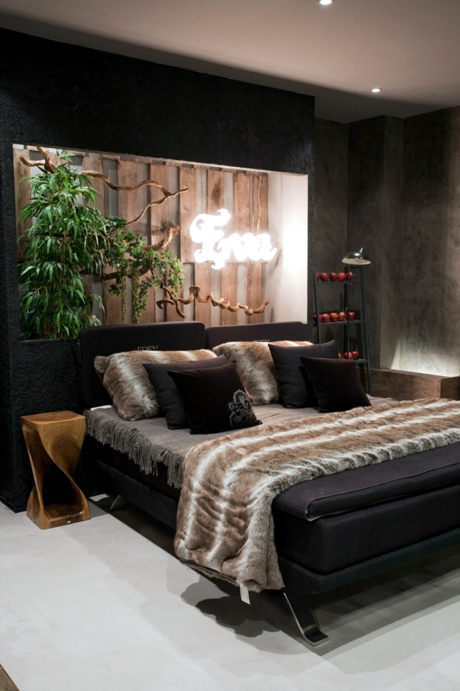 The garden of eden play in a modern bedroom design interior design the design of the chamber there egue seta was inspired by the garden of eden and is a modern interpretation dar many items in the bedroom have biblical publicscrutiny Image collections