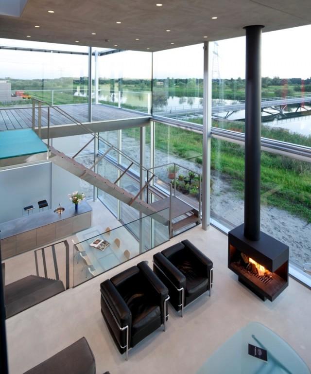 home interior design glass