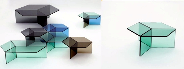 Table Glass Design 25 elegant oval coffee table designs made of glass and wood The Glass Side Table Isom Charming Design By Sebastian Scherer