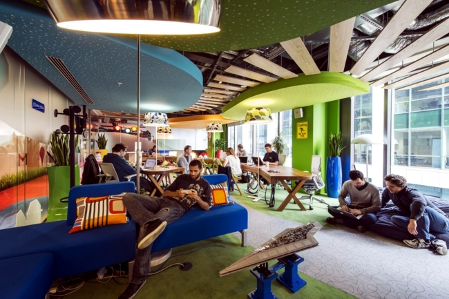 The Google headquarters in Ireland - behind the scenes