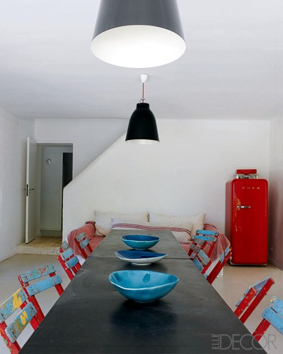 decoração vintage apartamento pequeno