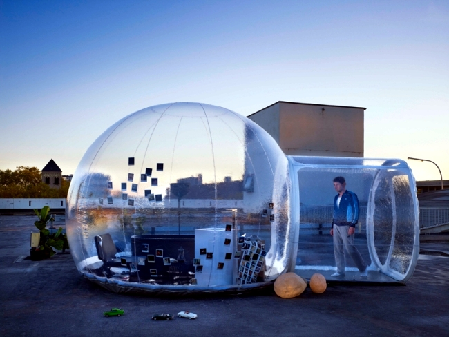 The Inflatable Mobile Bathroom Bubble Shows The Future Trends. Inflatable  Furniture