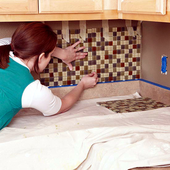 how to clean tiles before laying