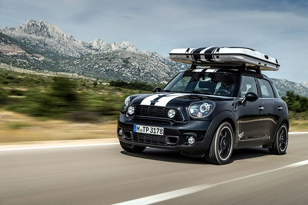 This Fabulous Practical Model Of The Mini Was Very Good For A Camping Trip Countryman ALL4 MINI Car Camp Is Perfect Way To Stay On Road