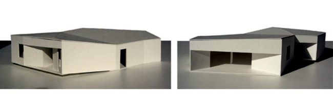 The modern architecture and the ratio of inside and outside