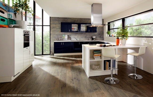 The Modern Kitchen Combines Aesthetics With Functionality Interior