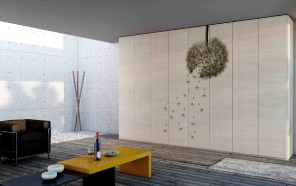 High Quality The Modern Wardrobe With Sliding Doors Both Practical And Stylish