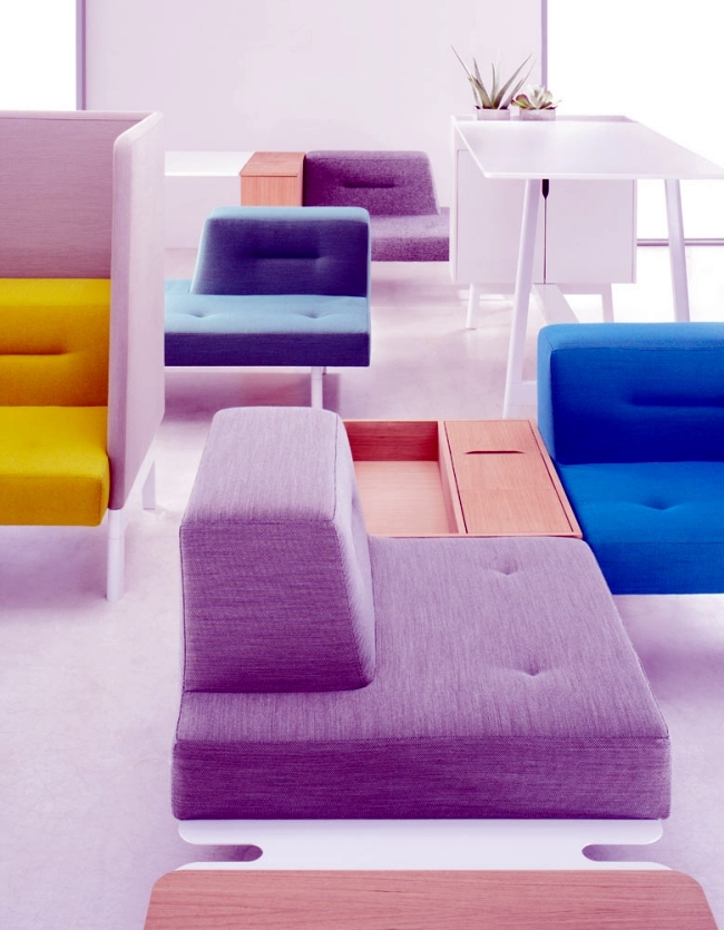 The Modular Furniture System Dock Is Used To Relax And
