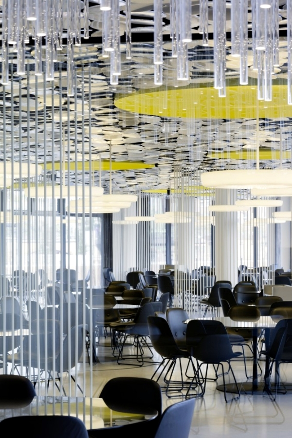 The new designer canteen from the mirror magazine in Hamburg's HafenCity