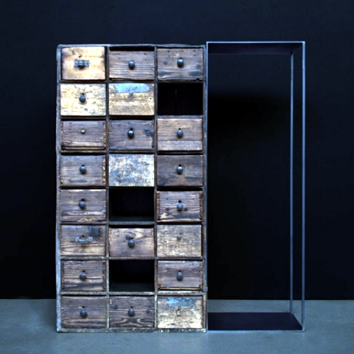The optical illusion in designer Furniture Collection by James Plumb