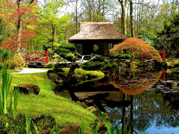 The perfect harmony of japanese gardens interior design for Perfect garden design