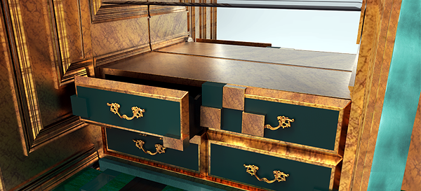 The Piccadilly collection of Boca do Lobo - mix of styles in furniture design