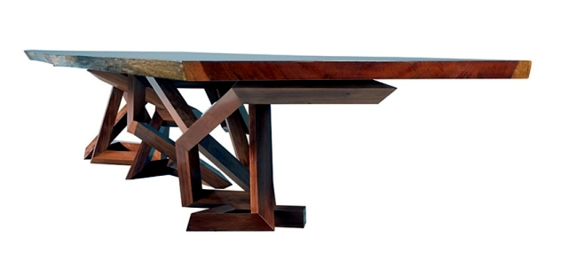 The Pitt-Pollaro collection presents designer furniture of Brad Pitt