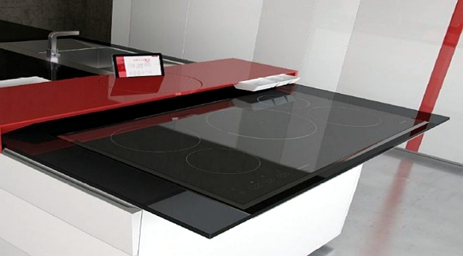 The prism designer kitchen with innovative kitchen for Kitchen countertop planner