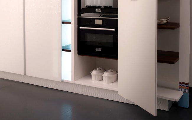 The prism designer kitchen with innovative kitchen countertop concept