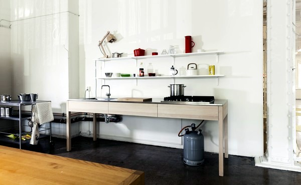 scandinavian cuisine by carpenter cargo collective - Simple Shapes Wall Design