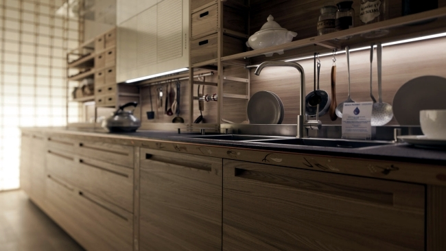 The Sinetempore designer kitchen in a traditional style from ...
