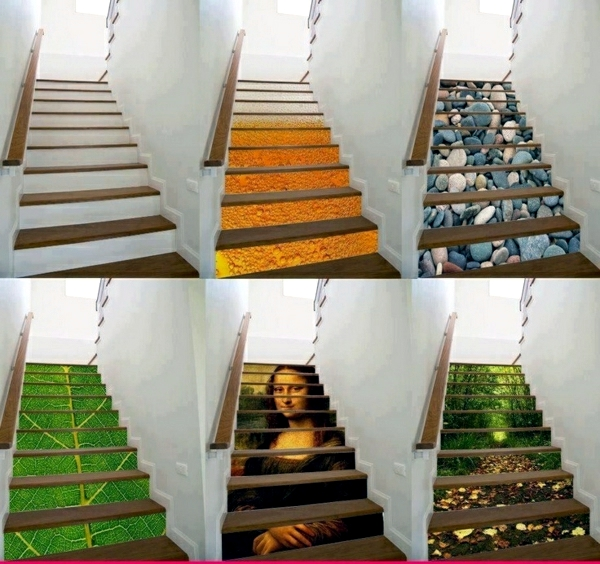 Ideas For Wall Decor On Stairs : The staircase decorating ideas with paint leftover