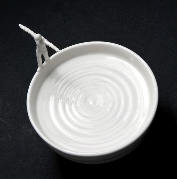 The stunning steel and ceramic sculptures by Johnson Tsang
