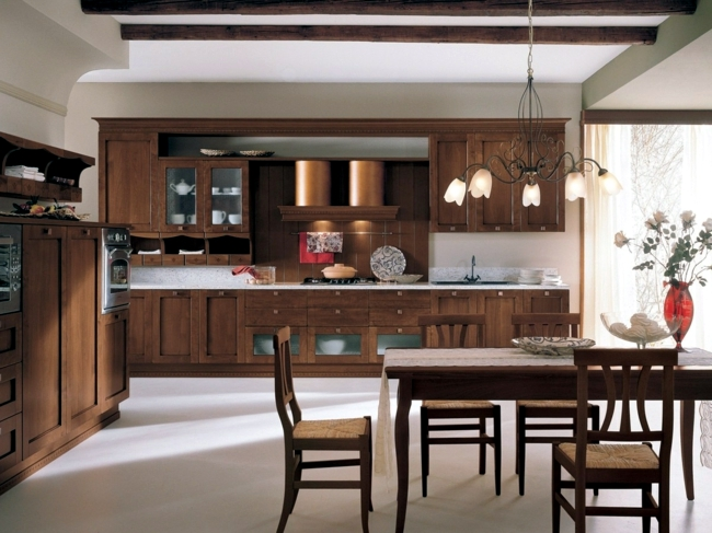 The traditional charm of the classic wooden kitchen designs -33