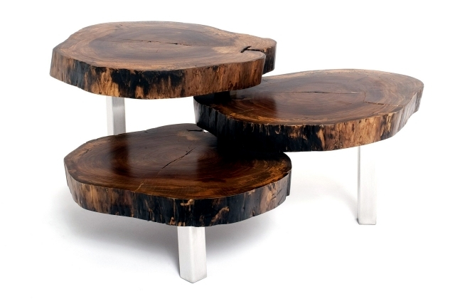 The unique coffee tables made of solid wood Furniture Rotsen