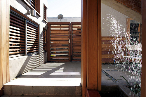 The windows as an important element in modern architecture design