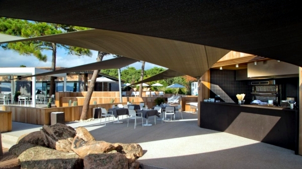 This designer hotel La Plage Alcyon in Corsica - a piece of paradise