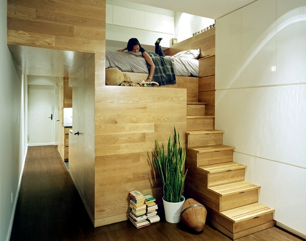 This modern bunk bed for adults creates more living and ...
