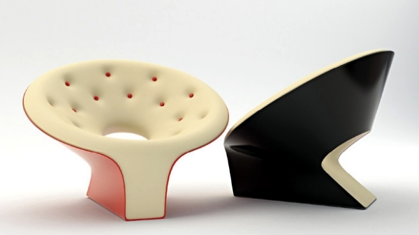 Tie - lounge chair with creative and functional design concept