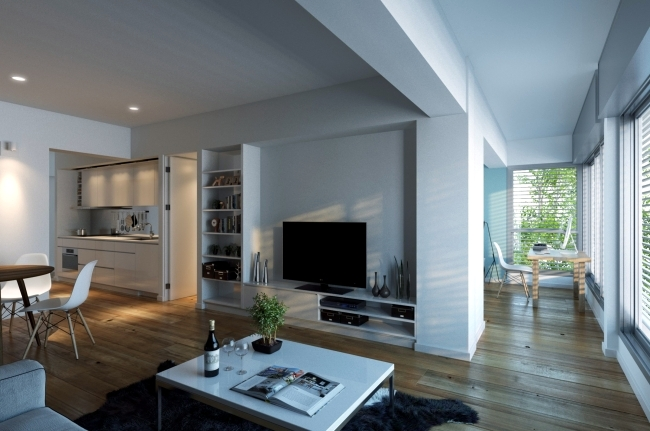 Timeless home design ideas living room - cool realistic 3D visualizations
