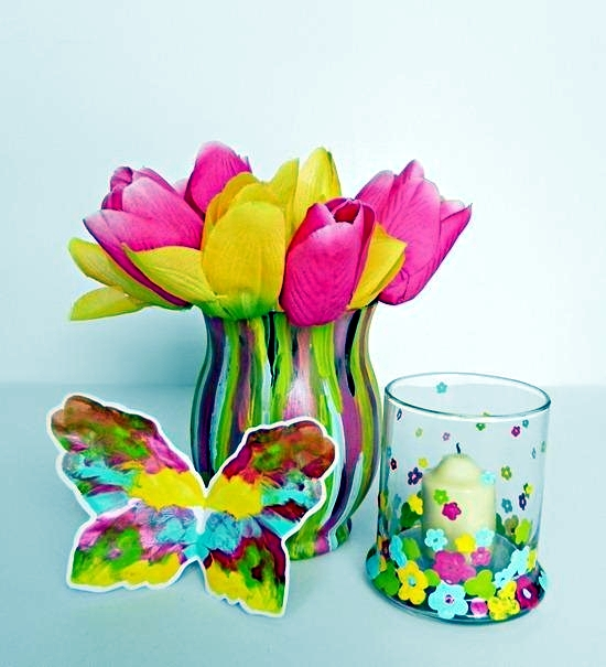 Tinker Beautiful Decoration For The Spring With Children