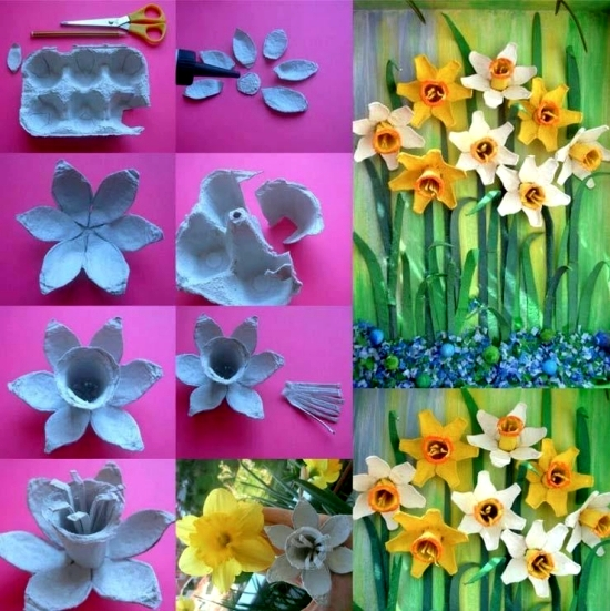 Tinker Beautiful Decoration For The Spring With Children 10 Easy