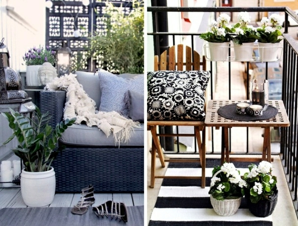 Tips for living balcony design u2013 visual protection and decoration