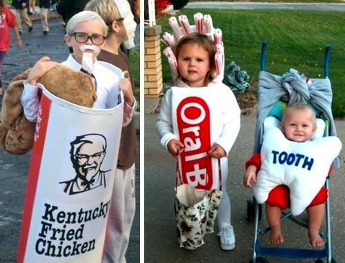 Top 35 funniest Halloween costumes for couples, children and animals