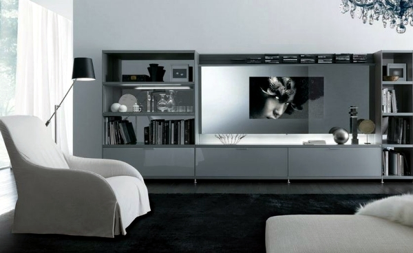 Tv furniture for living room in a trendy look – 20 design ideas ...