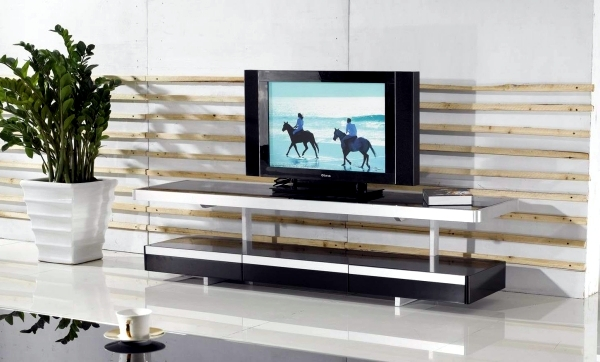 TV furniture for living room in a trendy look - 20 design ideas