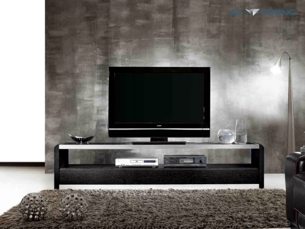 Tv furniture for living room in a trendy look 20 design - Dresser as tv stand in living room ...
